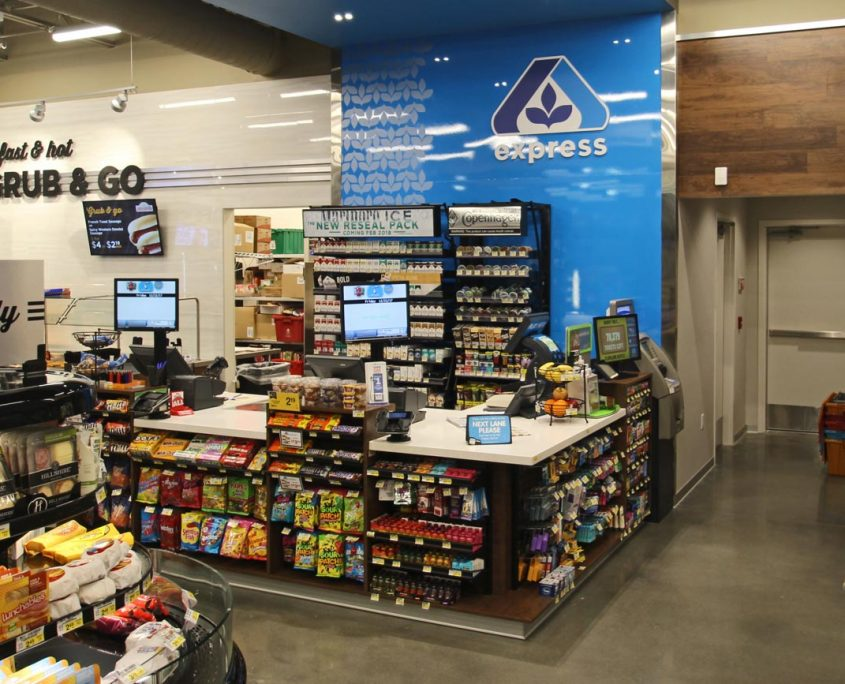 albertsons express - fuel center and c store